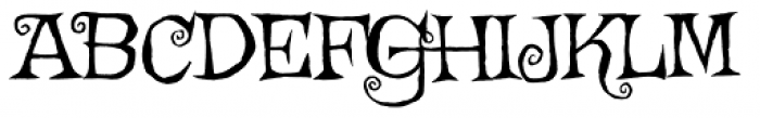 Griffy Pro Font UPPERCASE