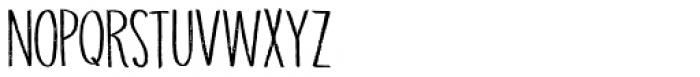 Grigory Regular Font UPPERCASE