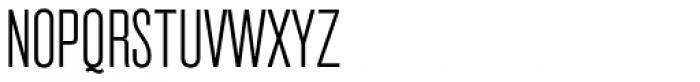 Grillmaster Condensed Extra Light Font UPPERCASE