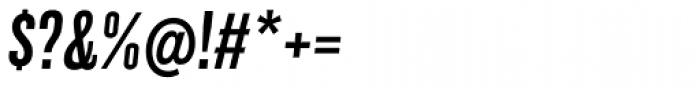 Grillmaster Condensed Medium Italic Font OTHER CHARS