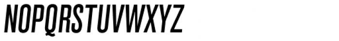 Grillmaster Condensed Regular Italic Font UPPERCASE