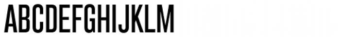 Grillmaster Condensed Regular Font UPPERCASE