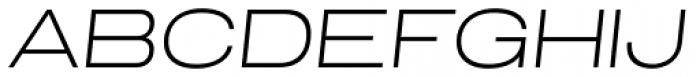 Grillmaster Extended Extra Light Italic Font UPPERCASE