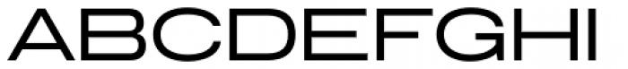 Grillmaster Extended Regular Font UPPERCASE