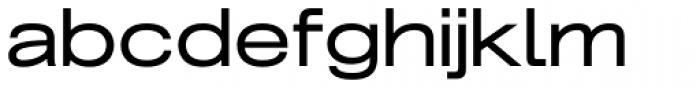 Grillmaster Extended Regular Font LOWERCASE