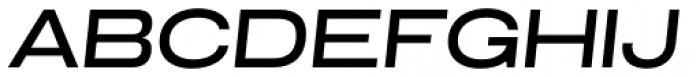 Grillmaster Extra Wide Medium Italic Font UPPERCASE