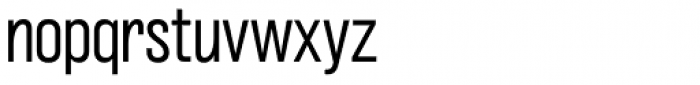 Grillmaster Narrow Light Font LOWERCASE