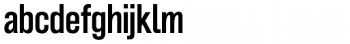 Grillmaster Narrow Medium Font LOWERCASE
