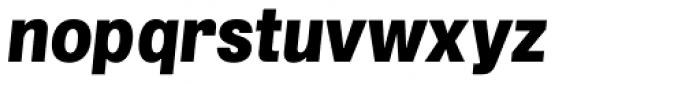 Grillmaster Regular Black Italic Font LOWERCASE