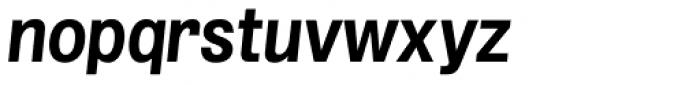 Grillmaster Regular Bold Italic Font LOWERCASE