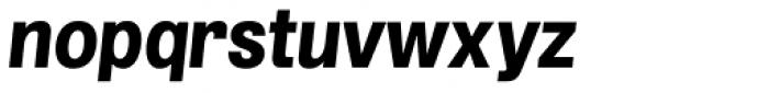 Grillmaster Regular Extra Bold Italic Font LOWERCASE