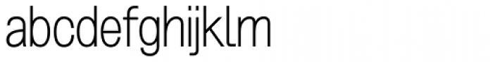 Grillmaster Regular Extra Light Font LOWERCASE