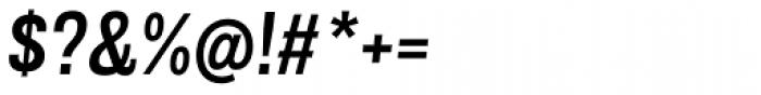 Grillmaster Regular Medium Italic Font OTHER CHARS