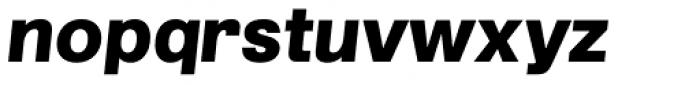 Grillmaster Semi Wide Black Italic Font LOWERCASE