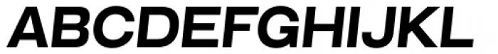 Grillmaster Semi Wide Extra Bold Italic Font UPPERCASE
