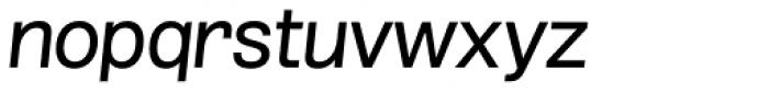 Grillmaster Semi Wide Regular Italic Font LOWERCASE