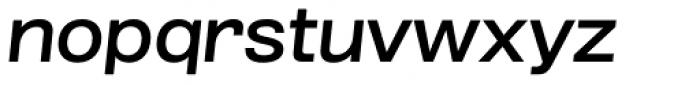Grillmaster Wide Medium Italic Font LOWERCASE