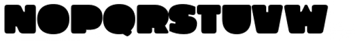 Grim Rounded Font UPPERCASE