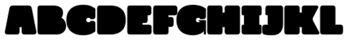 Grim Rounded Font LOWERCASE
