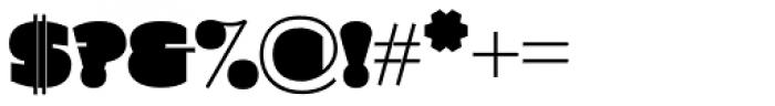 Grim Stencil Font OTHER CHARS