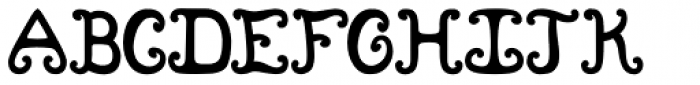Grimby Castle Font UPPERCASE
