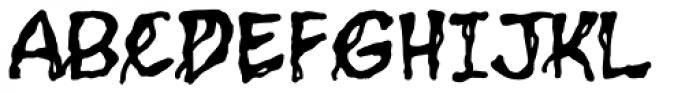 Grimly Fiendish Font UPPERCASE