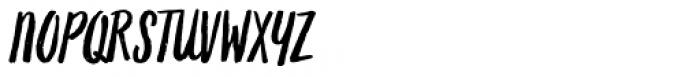 Grimpt Brush Alt Font UPPERCASE