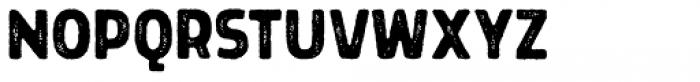 Grimpt Print Bold Rust Font UPPERCASE