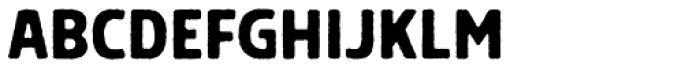 Grimpt Print Bold Font UPPERCASE