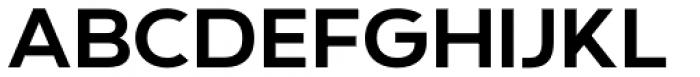 Grindhaus Sans Font UPPERCASE