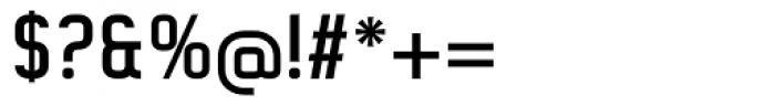 Gringo Sans Medium Narrow Font OTHER CHARS