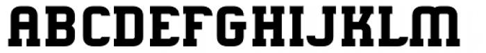 Gringo Slab Bold Font UPPERCASE