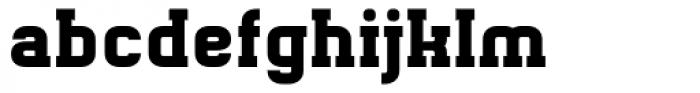 Gringo Slab Bold Font LOWERCASE