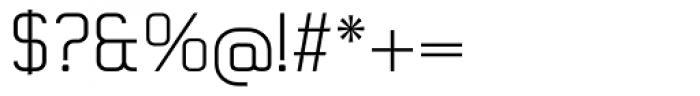 Gringo Slab Light Font OTHER CHARS