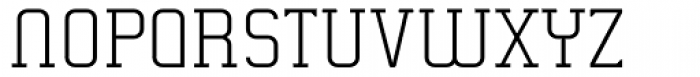 Gringo Slab Light Font UPPERCASE