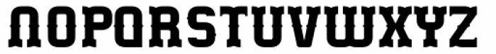 Gringo Tuscan Bold Font UPPERCASE