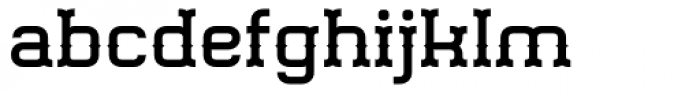 Gringo Tuscan Medium Wide Font LOWERCASE