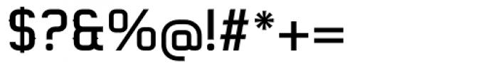 Gringo Tuscan Medium Font OTHER CHARS
