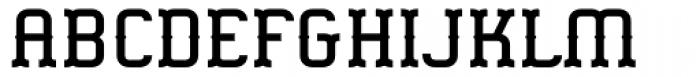 Gringo Tuscan Medium Font UPPERCASE
