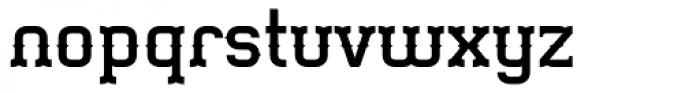 Gringo Tuscan Medium Font LOWERCASE