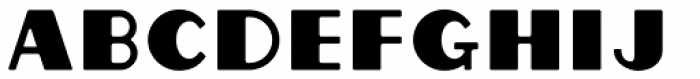Grippo Solid Font LOWERCASE
