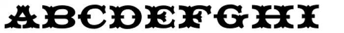 Grist Mill JNL Font UPPERCASE