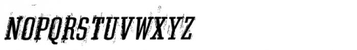 Grit Egyptienne Alternate Italic Font UPPERCASE