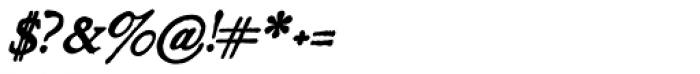Grit Primer Bold Italic Font OTHER CHARS