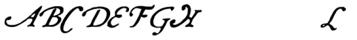 Grit Primer Swash Italic Font UPPERCASE