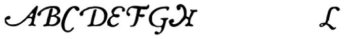 Grit Primer Swash Normal Font LOWERCASE