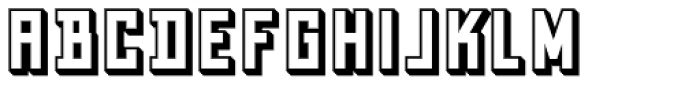 Grizzly Bear 7 Shadow Font UPPERCASE