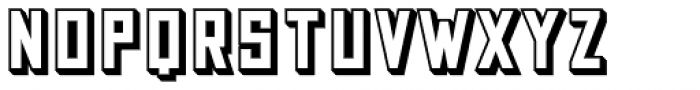 Grizzly Bear 7 Shadow Font LOWERCASE