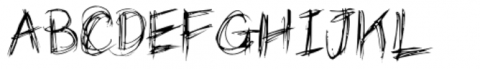 Grizzly Font UPPERCASE