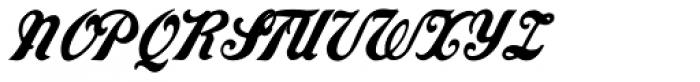 Grocers Script Font UPPERCASE